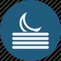 fog, night icon