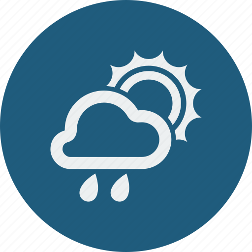 Rainy, sunny, weather, cloud, cloudy, rain, forecast icon - Download on Iconfinder