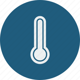 forecast, hot, temperature, thermometer, weather icon