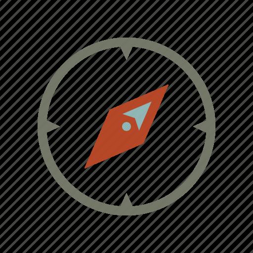 compass, gps, location, map, navigate, navigation, northeast icon