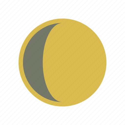 eclipse, forecast, moon, weather icon