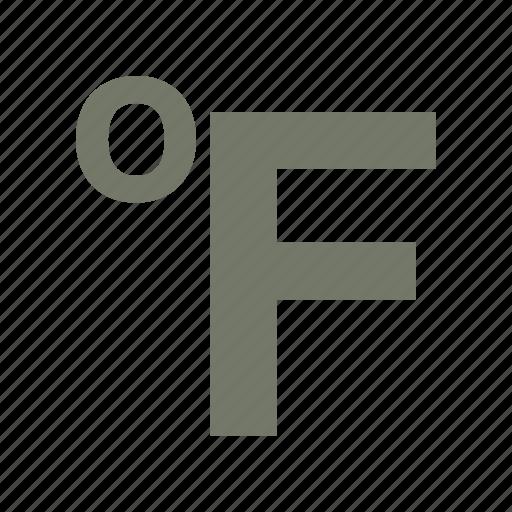 fahrenheit, forecast, thermometer, weather icon
