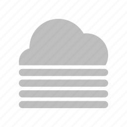 cloud, fog, forecast, weather icon