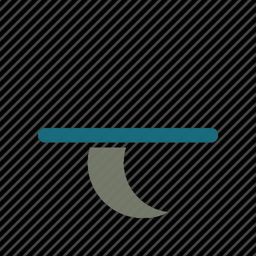 forecast, moon, night, set, weather icon