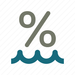 forecast, percentage, percentage sign, weather icon