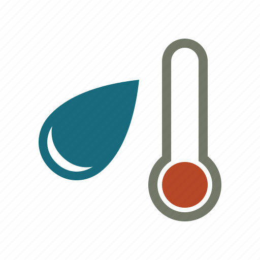 forecast, temperature, thermometer, water, weather icon