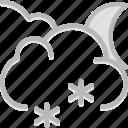 forecast, snow, weather