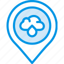 forecast, thunderstorm, weather icon