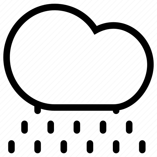 cloud, clouds, cloudy, cold, creative, drop, grid, heavy, lightning, line, night, rain, shape, water, weather icon