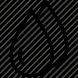 aqua, creative, drop, grid, line, pellets, rain, shape, shine, water icon