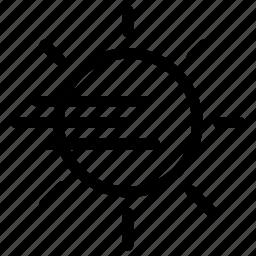 chaos, creative, day, dense, fog, grid, hazard, line, shape, thick-fog, visiblity icon