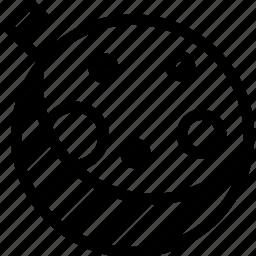 creative, full, grid, line, lunar-eclipse, lunar-phase, month, moon, night, shape icon