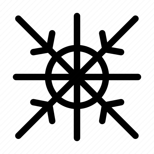 cloud, cold, creative, frost, grid, line, shape, snow, snow-man, snowflake, winter icon