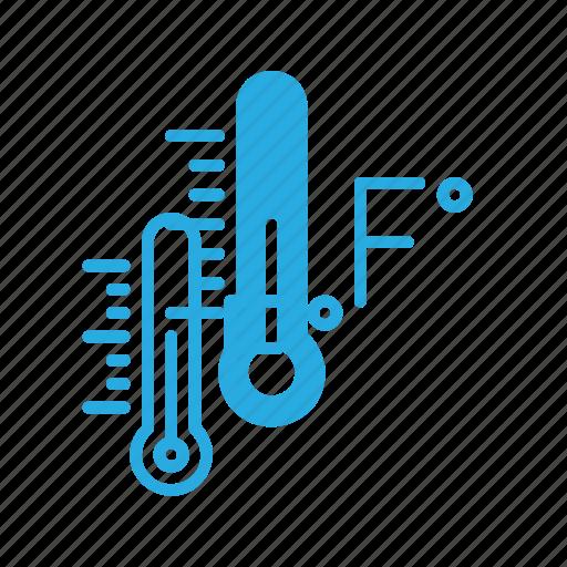 degree, fahrenheit, forcast, temperature, weather icon