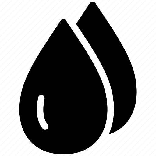 aqua, creative, drop, grid, pellets, rain, shape, shine, water icon