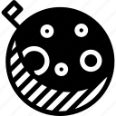 full, moon, lunar-eclipse, shape, grid, night, month, creative, lunar-phase icon