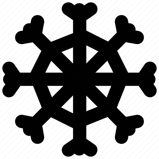 cold, creative, frost, frozen, grid, rrows, shape, snow, snowflake, weather icon