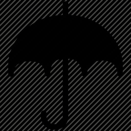 cloudy, creative, forecast, grid, protection, rain, safe, shape, strom, sun, umbrella icon