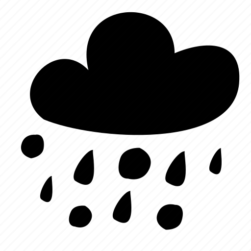 cold, rain, sleet, weather, winter icon