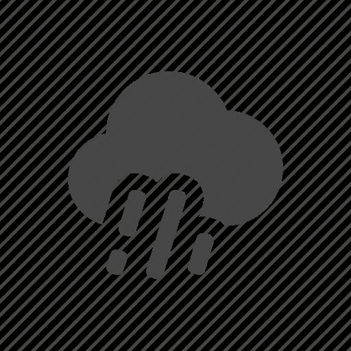 heavy, rain, weather icon