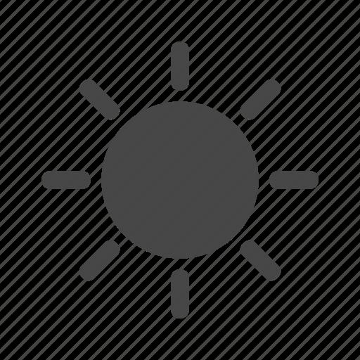 climate, sun, sunny, weather icon