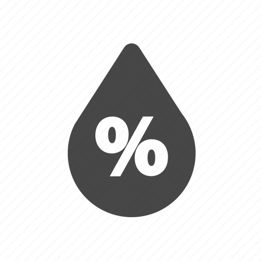 drop, forcast, humidity, weather icon