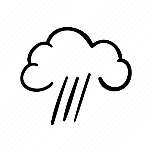 cloud, rain, sky, storm, thunderstorm, weather, weather forecast icon