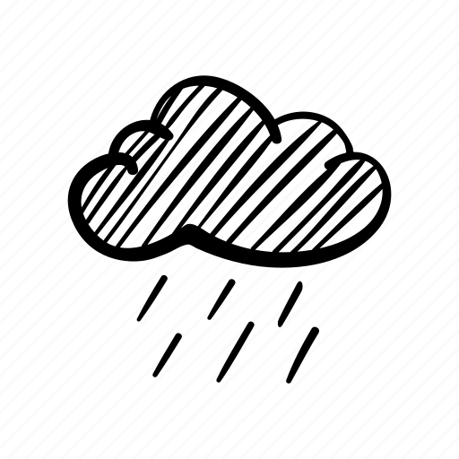 cloud, fog, hazy cloud, rain, sky, storm, weather icon