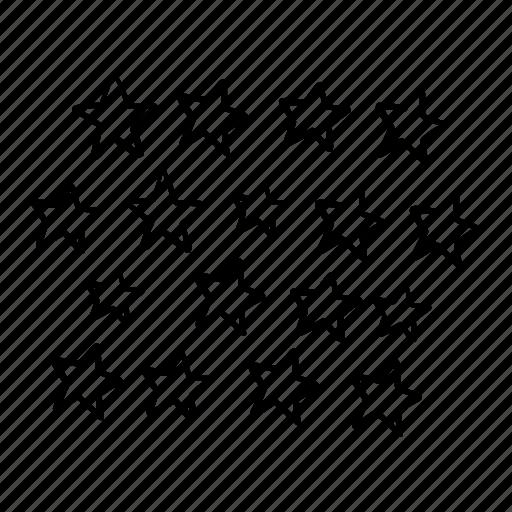 night, pattern, shining, star, stars, stars pattern, weather icon