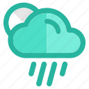 climate, clouds, cloudy, forecast, rain, storm, weather icon