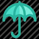 cloudy, rain, snow, storm, umbrella, weather, winter icon