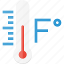 degree, fahrenheit, forcast, temperature, weather icon