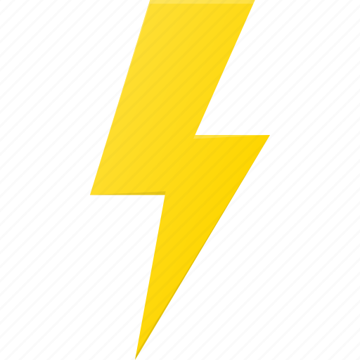flash, forcast, lightning, storm, weather icon