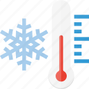 forcast, freezing, snow, temperature, weather, winter icon