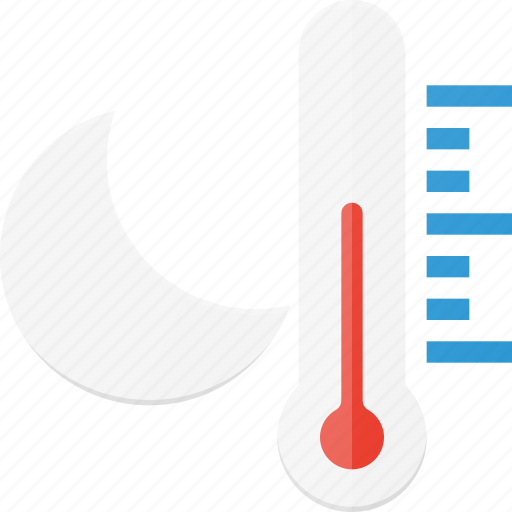 forcast, night, temperature, weather icon