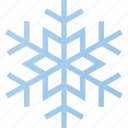 flake, forcast, snow, weather, winter icon