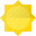 day, forcast, sun, sunny, weather icon