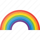 colors, forcast, rainbow, weather icon