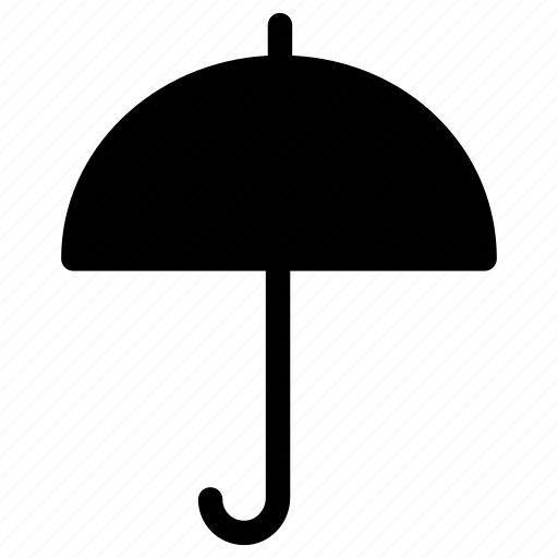 climate, rain, sun, umbrella, weather icon