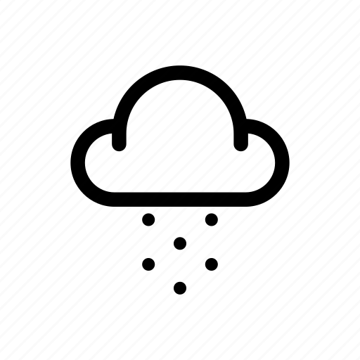 Cloud, snowy, weather icon - Download on Iconfinder