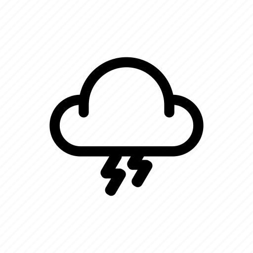 Cloud, storm, weather icon - Download on Iconfinder