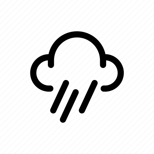 Cloud, rainy, weather icon - Download on Iconfinder