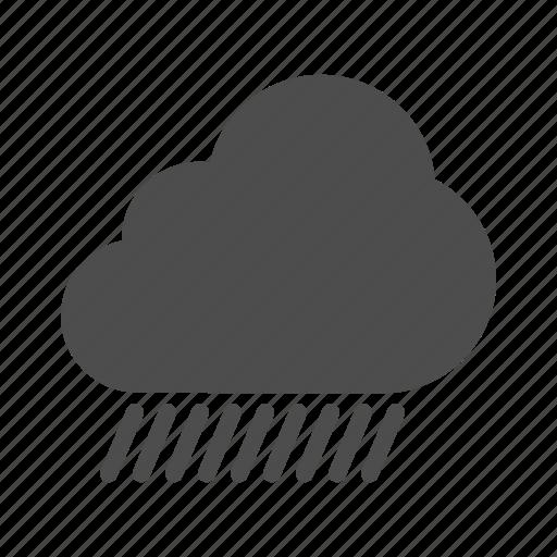 cloud, rain, weather icon