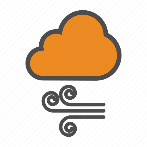 air, cloud, weather, wind icon