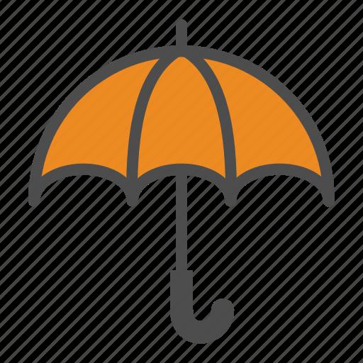Weather, umbrella, rain icon