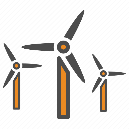 air, generator, turbine, weather, wind icon