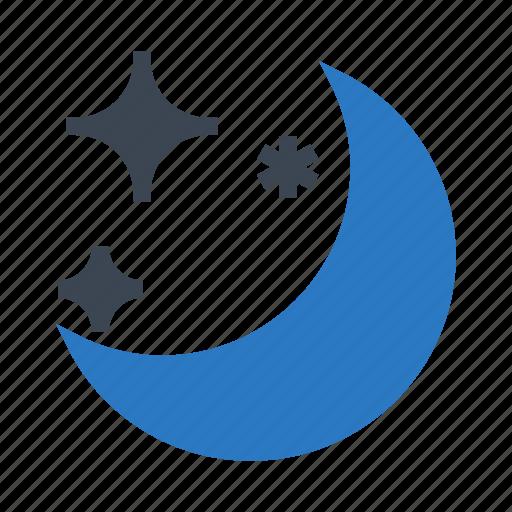 moon, night, shine, sleep, star icon