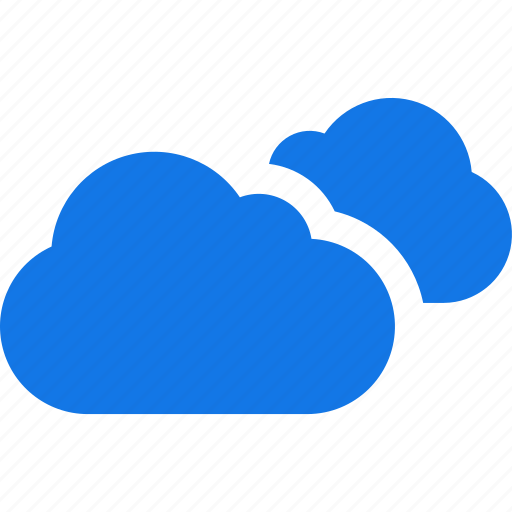 cloud, clouds, cloudy, forecast, partly, weather icon