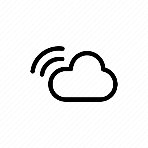 cloud, cloudy, forecast, notification, weather icon