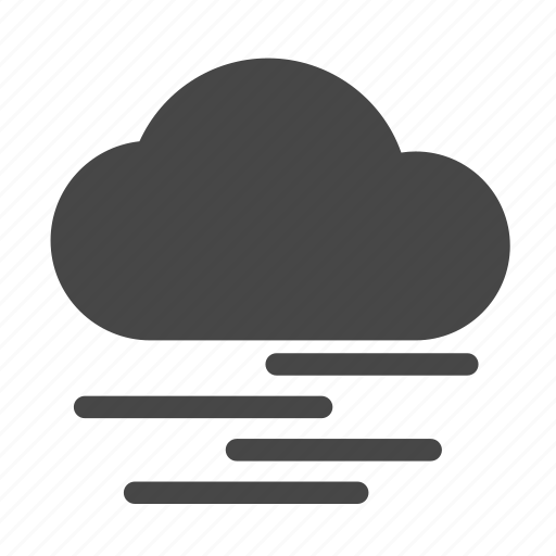 cloud, fog, mist, weather icon